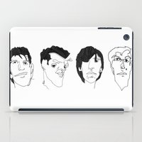 smiths iPad Cases featuring The Smiths by Darren Draws