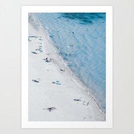 Beach Life 3 Art Print