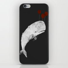 Whale with Balloons iPhone Skin