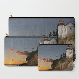 Bass Harbor Head Lighthouse Acadia National Park Carry-All Pouch