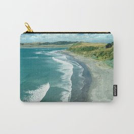 The famous Raglan beach, New Zealand Carry-All Pouch