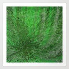 Fragment 03: Heart of Tangles Art Print
