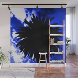 Palm Tree Silhouette - Groove Of Midnight Wall Mural