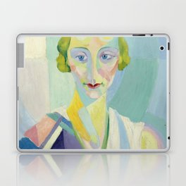 "Robert Delaunay ""Portrait de Madame Heim"" Laptop & iPad Skin"