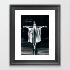 Blasphemi Exspiravit Framed Art Print