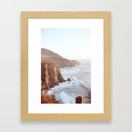 Big Sur Framed Art Print