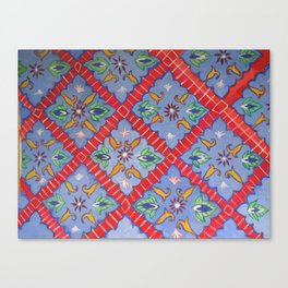 Tile Pattern Canvas Print