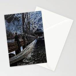 Ghostly Central Park Stationery Cards