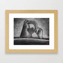 Empty Drink Framed Art Print