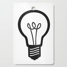 Simple Light Bulb Cutting Board