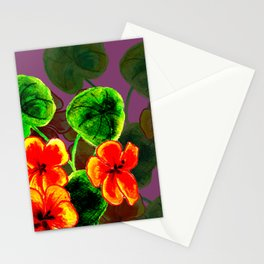 Nasturtiums on Steroids Stationery Cards