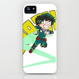 Deku - Full Cowl Smash! iPhone Case
