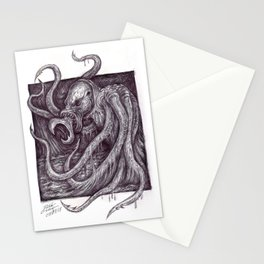 Kraken Stationery Cards