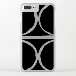 Circles in Perfect Harmony Clear iPhone Case