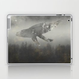 Dream Space - Surreal Image with A Whale Laptop & iPad Skin