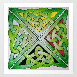 Medicine Knot Art Print