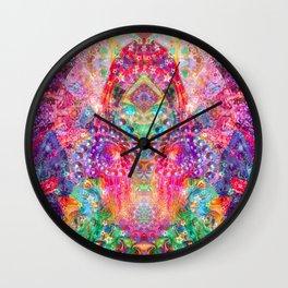 Ultraviolet Dreamer Wall Clock