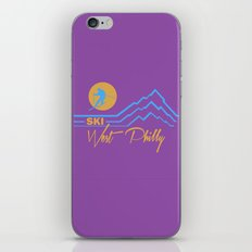 Ski West Philly iPhone & iPod Skin
