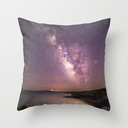 A Million Stars Throw Pillow