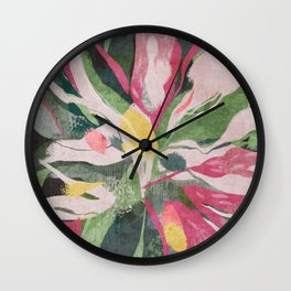 Cordyline Wall Clock