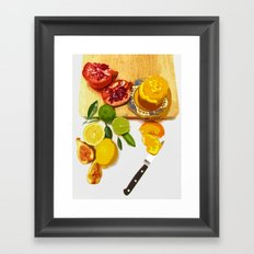Still Life with Pomegranate Framed Art Print