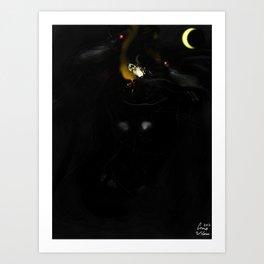 Raven, I'm Raven. Art Print