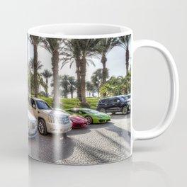 Luxury Cars Dubai Coffee Mug