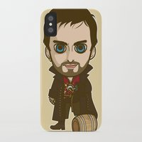 captain hook iPhone & iPod Cases featuring Captain Hook by Samtronika