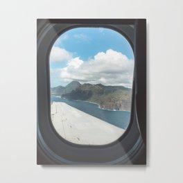 Landing in Kauai Metal Print