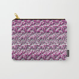 Rose Chrome Carry-All Pouch