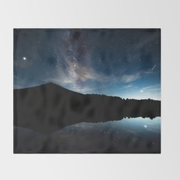 Summer Stars in the Smokies Throw Blanket