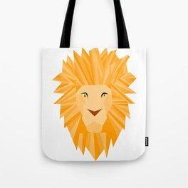 Golden Lion Brave Tote Bag