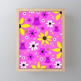 Wonderful Whimsical Spring Framed Mini Art Print