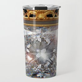 Royal Princess cut Diamond Travel Mug