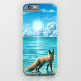 Caribbean Blue iPhone Case
