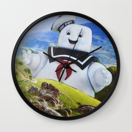 Stay Puft Wall Clock