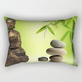 Spiritual calm Rectangular Pillow