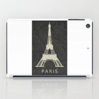 paris iPad Cases featuring Paris by NJ-Illustrations