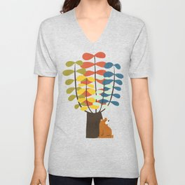 Shady Tree Unisex V-Neck