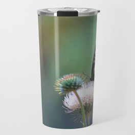 Butterfly Thistle Travel Mug