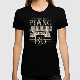 Piano Music Pianist Keyboard Jazz Gift T-shirt