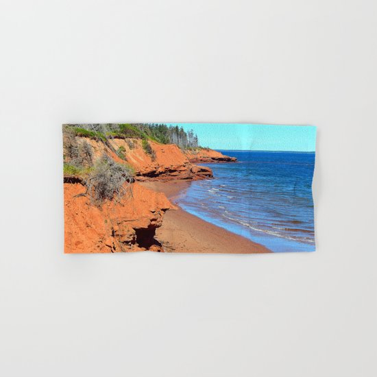 Red Cliffs of PEI Hand & Bath Towel