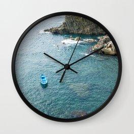 Riomaggiore, Cinque terre, Italy Wall Clock