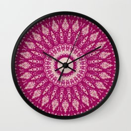 MANDALA NO. 29 #society6 Wall Clock