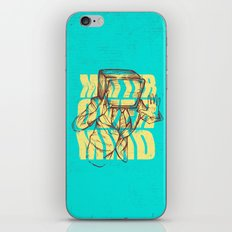 Matter Over Mind iPhone & iPod Skin