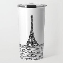 Paris skyline Travel Mug