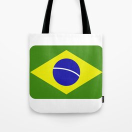 brazil flag Tote Bag