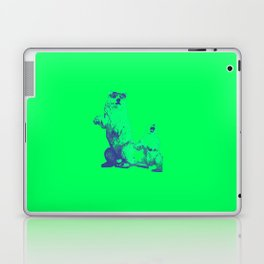Ours Republique green Laptop & iPad Skin