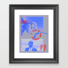 PARIS, TEXAS Framed Art Print
