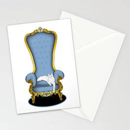 Cats on Thrones (2) Stationery Cards
